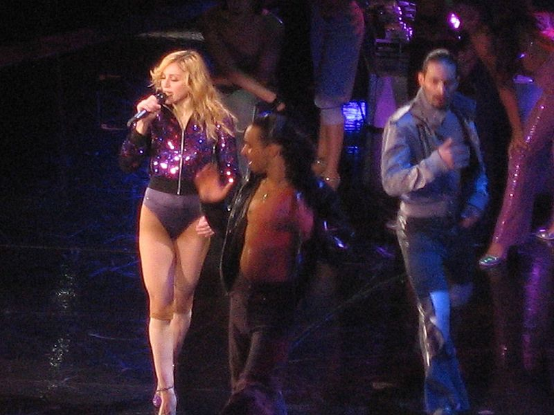 Madonna, and Another of  Her Adopted Boys from Malawi??