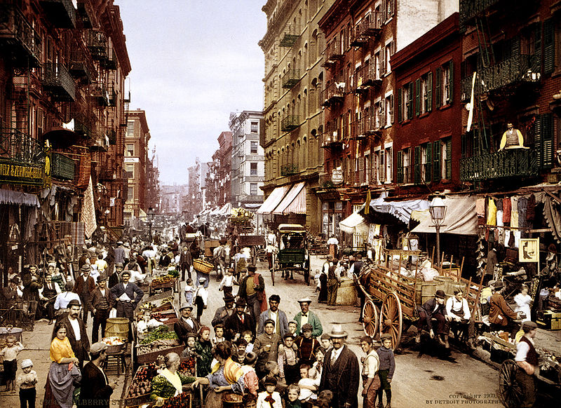 Mulberry Street, New York City, Circa 1900